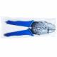 Pinza ergonomica con cricchetto per braccialetti da festival