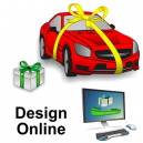Design di nastri regalo online