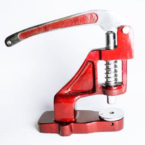 Utensile da crimpatura da tavolo per pressare guarnizioni su braccialetti in tessuto