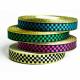 Fancy ribbon roll in dama metallica per braccialetti tessili