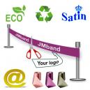 Nastro di inaugurazione  ecologico e sostenibile via e-mail