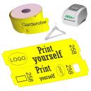 Rotoli di biglietti per guardaroba termico diretto per stampante JMB4+