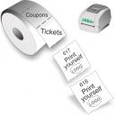 Stampa biglietti e coupon con la stampante termica diretta JMB4+