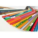 Carte in PVC assortite con stampa a colori