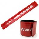 Sbatti i braccialetti con il tuo testo e il tuo logo
