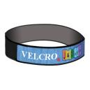 Braccialetti in Velcro® con striscia intrecciata sulla parte superiore