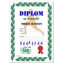 Diploma partecipante stampato a colori