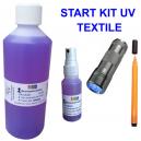Kit di avvio UV per la marcatura di indumenti tessili