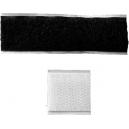 Chiusure adesive con velcro per attaccare nastri larghi su una fascia