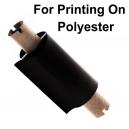 Fogli per la stampa con una stampante a trasferimento termico su poliestere