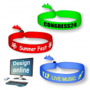 Disegna online i braccialetti del tuo festival tessile