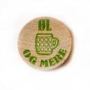 Token stampati in legno