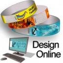 Braccialetti di carta con motivo di design online
