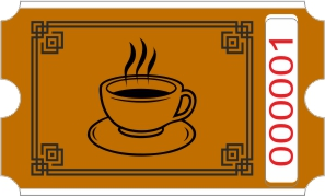 Rotolo caffè - Marrone